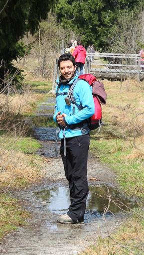 Aufgenommen beim Wandern zum Landshuter Haus (Bayr. Wald)